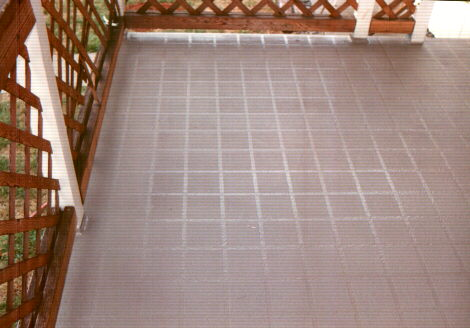 "Picture of a ""Pattern"" (tile-look) All Deck application"